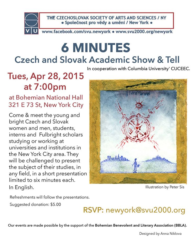 6 MINUTES Academic Show & Tell