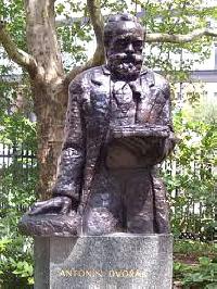 Antonín Dvořák Statue at Stuyvesant Square