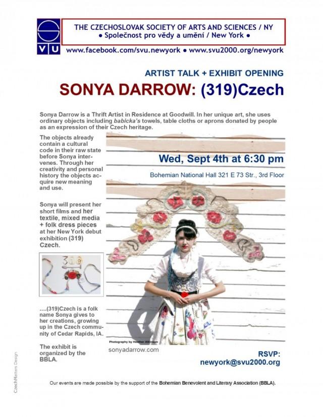 sonya flyer