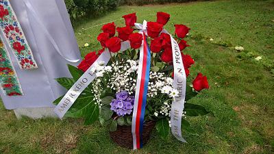 Památník Jaroslava Němce - US Embassy Flowers